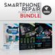 Smartphone Repair Flyer/Poster Bundle - GraphicRiver Item for Sale