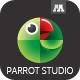 Parrot Studio Logo - GraphicRiver Item for Sale