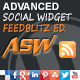 Advanced Social Widget Feedblitz Edition - CodeCanyon Item for Sale