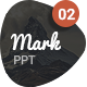MARK02-Powerpoint Template  - GraphicRiver Item for Sale