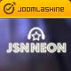 JSN Neon -  A Modern & Responsive Music Template for Joomla - ThemeForest Item for Sale