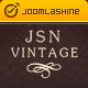 JSN Vintage - Responsive Joomla Template for Personalized Portfolio Website - ThemeForest Item for Sale