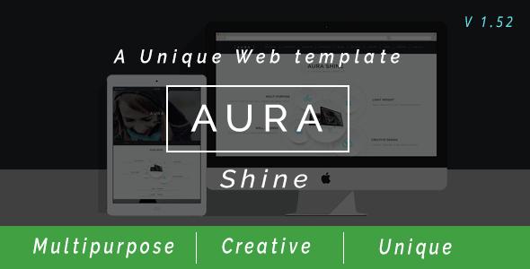Aura Shine - A Unique Multipurpose Muse Template