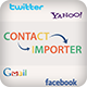 Importer Utility App for Social media contact's and Holidays Obj-C - CodeCanyon Item for Sale