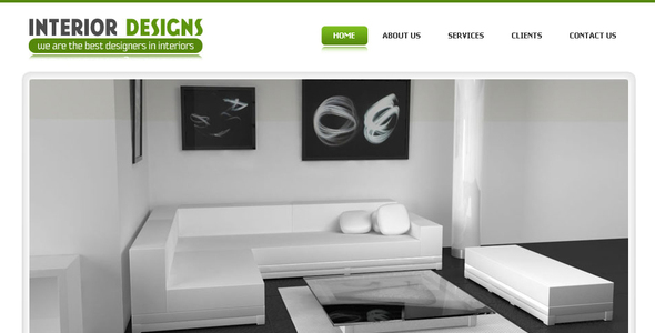 Interior Designs - Simple Pro Elegant Template