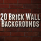 Brick Wall Backgrounds - GraphicRiver Item for Sale