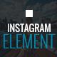 Instagram Element - Cornerstone Element for Wordpress - CodeCanyon Item for Sale