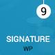 Signature - Multiple Events WordPress Theme