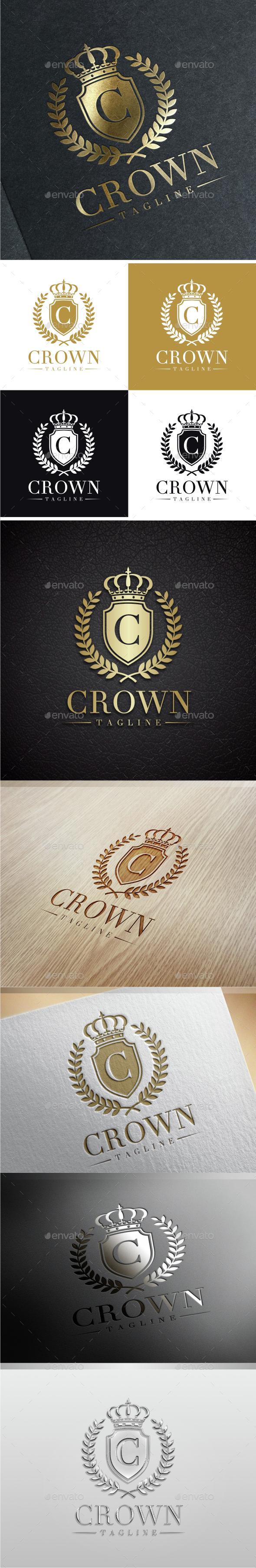 Crown Luxury - Letter C Logo