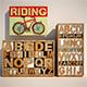 Set of furniture letters - 3DOcean Item for Sale