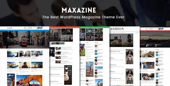Maxazine - News, Magazine & Blog WordPress Theme