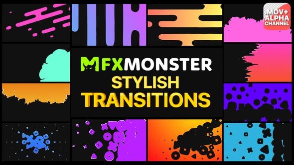Stylish Transitions   Motion Graphics