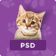 Pet & Shop   Premium Pet Care PSD Template - ThemeForest Item for Sale