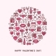 Valentines Day And Wedding Icons - GraphicRiver Item for Sale