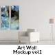 Art Wall Mockups Vol.1 - GraphicRiver Item for Sale
