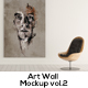 Art Wall Mockups Vol.2 - GraphicRiver Item for Sale