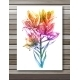 Lily Flowers on White Background - GraphicRiver Item for Sale