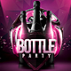 Bottle Party Night - GraphicRiver Item for Sale