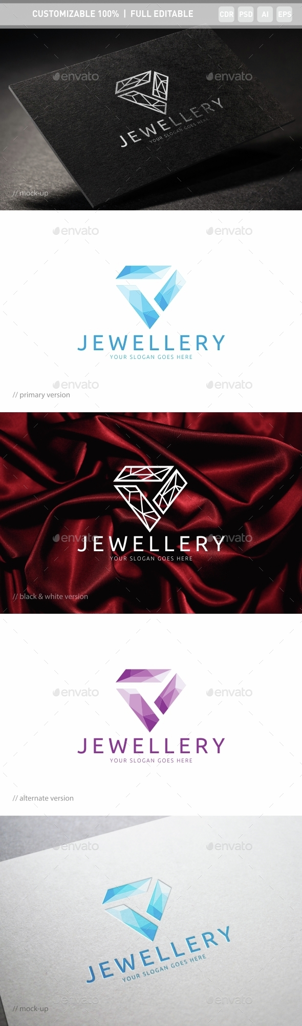 Jewellery Logo Template