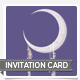 To the Moon Invitation Card - GraphicRiver Item for Sale
