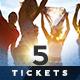 Event Tickets Bundle 5 - GraphicRiver Item for Sale