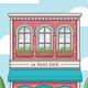 Cafe Building - GraphicRiver Item for Sale