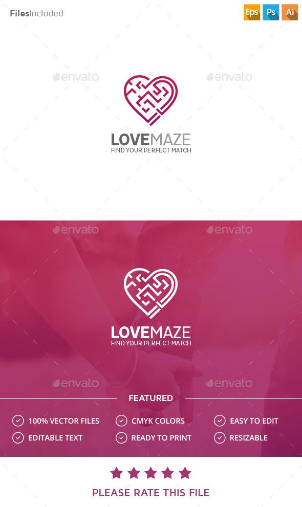 Love match logo