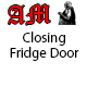 Closing Fridge Door