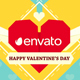 Valentines Day Paper Love - VideoHive Item for Sale