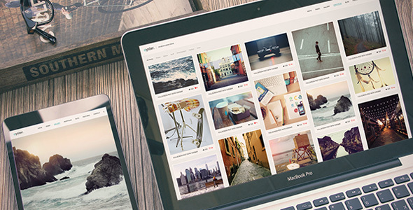 Oyster | Photography WordPress Theme