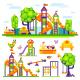 Children's Playground - GraphicRiver Item for Sale