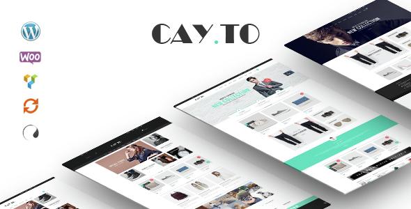 Cayto - The Best WooCommerce Responsive WordPress Theme