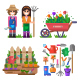 Gardening 2 - GraphicRiver Item for Sale
