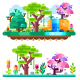 Unreal Tropical Forest - GraphicRiver Item for Sale