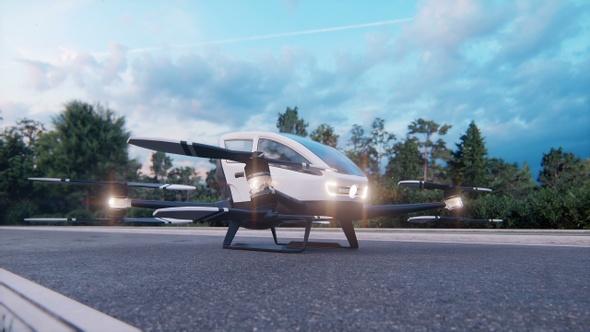 High-Tech Air Taxi