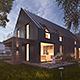 Vray Night Scene - Rendering Modern House - 3DOcean Item for Sale