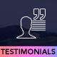 Testimonials for Cornerstone - CodeCanyon Item for Sale