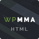 WP MMA - Gym & Fitness HTML Template - ThemeForest Item for Sale