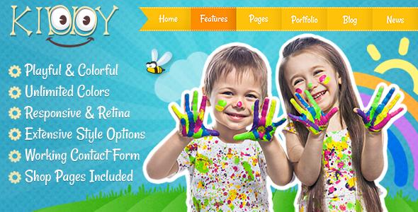 Kiddy - Children HTML Template