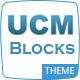 UCM Theme: Blocks CRM - ThemeForest Item for Sale