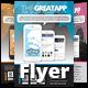 Smart Phone App Business Promotion Flyer 05 - GraphicRiver Item for Sale