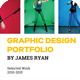 Graphic Design Portfolio Template - GraphicRiver Item for Sale