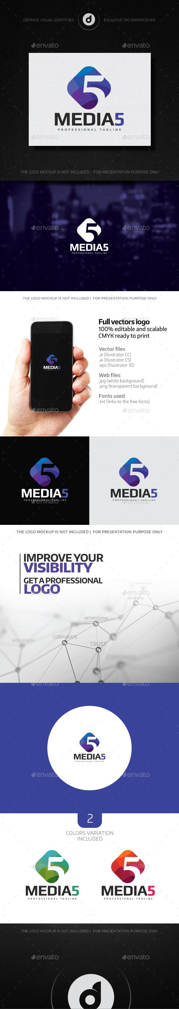 Media 5 Logo