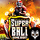 Super Ball Game Night Flyer - GraphicRiver Item for Sale