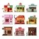 Cool Set Of Detailed Flat Design City Public - GraphicRiver Item for Sale