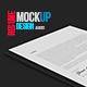 Resume A4 Mockup - GraphicRiver Item for Sale