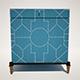 Trunk Blue Crackle - 3DOcean Item for Sale