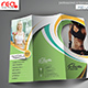 Fitness & Yoga Center Trifold Brochure Template - GraphicRiver Item for Sale