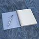 Notebook Mock-up - GraphicRiver Item for Sale
