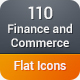 Finance and Commerce Flat Icons - GraphicRiver Item for Sale
